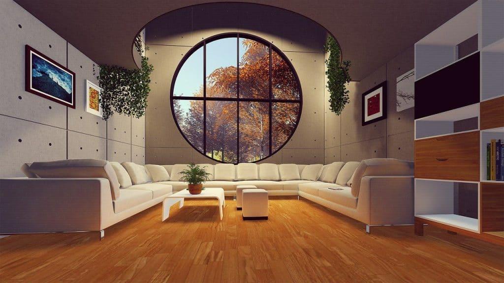 Podłoga olejowana w domu