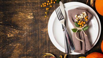 9 pomysłów na jesienne składanie serwetek