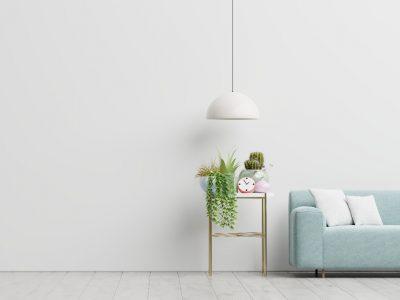 Ponadczasowa biel na ścianie – proste rozwiązanie dekoracyjne