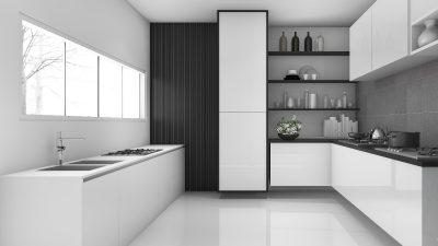 Czarno-białe wnętrza. Eleganckie czy nudne?