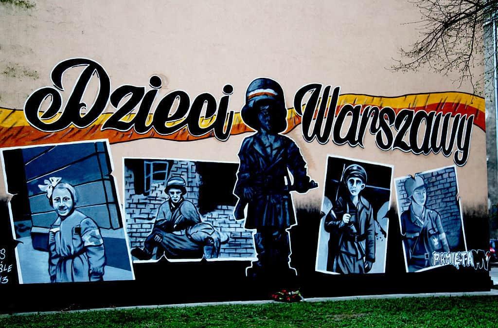 Mural Dzieci Warszawy