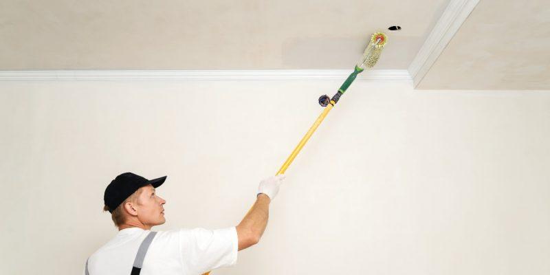 3 błędy, których nie możesz popełnić podczas malowania sufitu