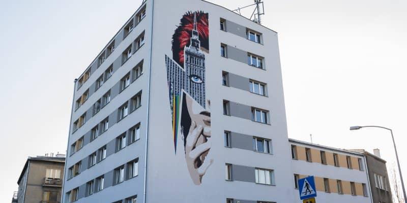 Murale w Warszawie