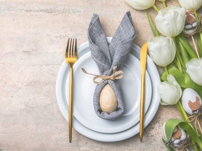 Pomysły na udekorowanie stołu wielkanocnego