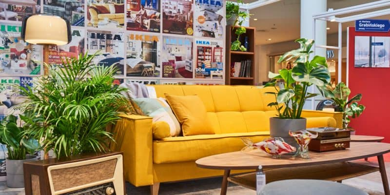 60 lat IKEA w Polsce - ruszyła wystawa w stylu vintage i Fiatem 126p w tle